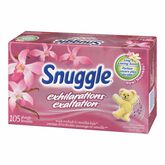Snuggle Exhilarations Dryer Sheets - Wild Orchid & Vanilla - 105's
