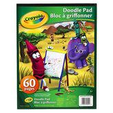 Crayola Doodle Pad - 60 sheets