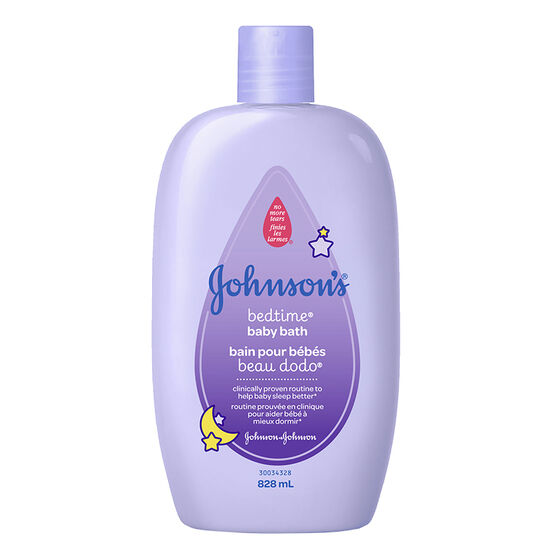 Johnson & Johnson Bedtime Bath - 828ml