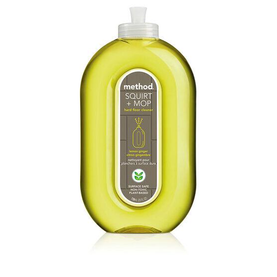 Method OMop All Floor Lemon Ginger Non-toxic Floor Cleaner - 739ml
