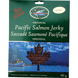 West Coast Select Pacific Salmon Jerky - Maple - 90g