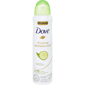 Dove Dry Spray Anti-Perspirant - Cool Essentials - 107g