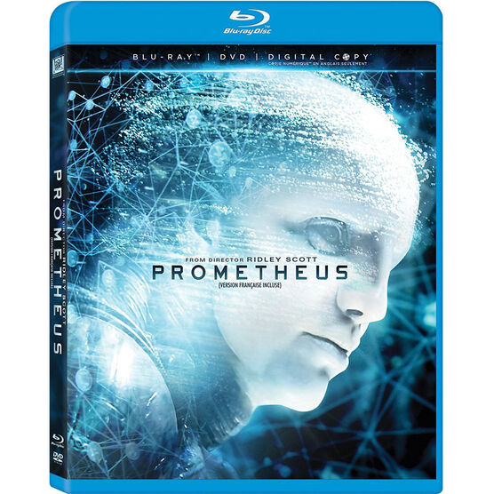 Prometheus - Blu-ray + DVD - Digital Copy