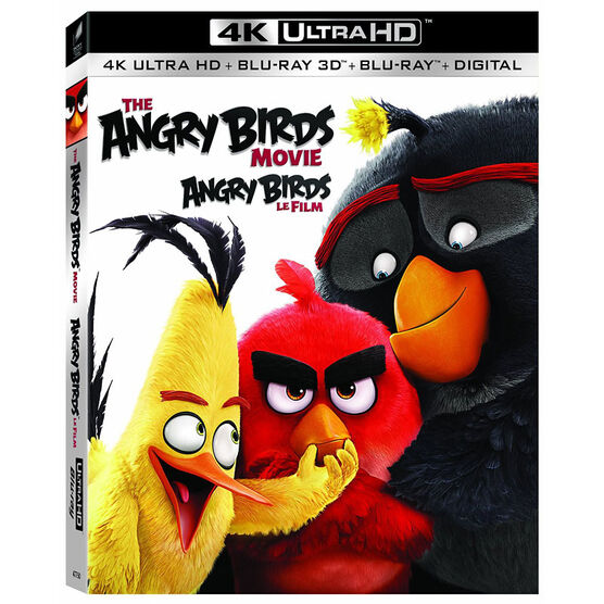 The Angry Birds Movie - 4K UHD Blu-ray + 3D Blu-ray