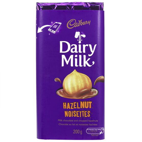 Cadbury Hazelnut Bar - 200g