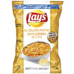Lay's Potato Chips - P.E.I. Scalloped Potatoes - 66g