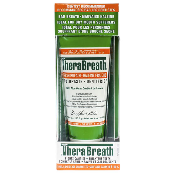 TheraBreath Toothpaste - 113.5g