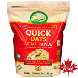Everland Canadian Oats - Quick Oats - 2.27kg