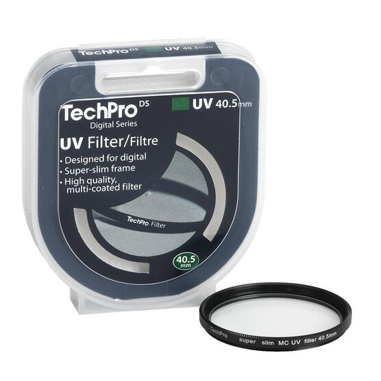 TechPro DS 40.5mm Multi-Coated UV Filter - FIMSMCBL45-CBDC