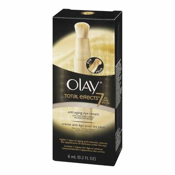 Olay Total Effects 7-in-1 Anti-Aging Eye Cream Line & Dark Circle Minimizing Brush - 6ml
