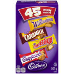 Cadbury Chocolate Fun Treats - 45's