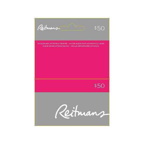 Reitmans Gift Card - $50