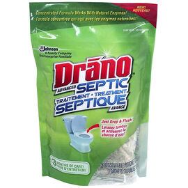 Drano Advanced Septic Treatment - 3x127.5g