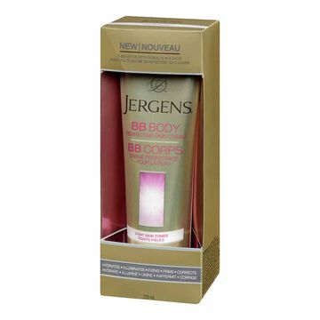 Jergens BB Body Perfecting Skin Cream - Light Skin Tones - 220ml
