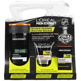 L'Oreal Men Expert NHL Rookie Regimen Kit - 3 piece