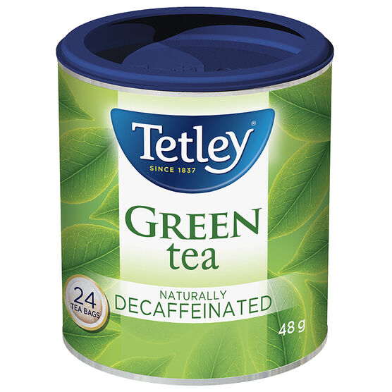 Tetley Decaffeinated Green Tea - 24's