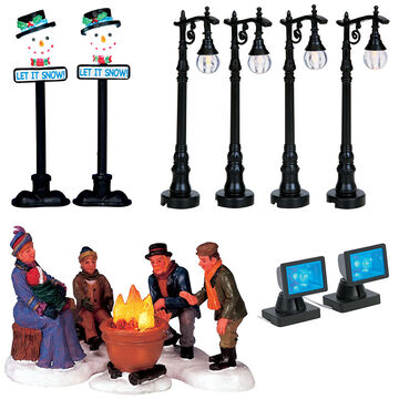 Lemax Lighted Accessory - Assorted