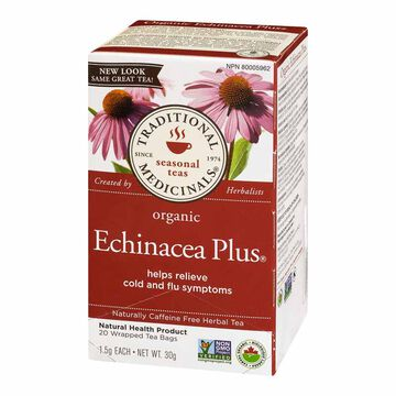 Traditional Medicinals Tea - Organic Echinacea Plus - 20's