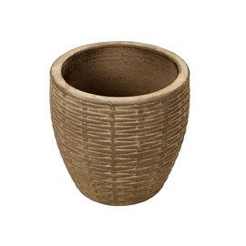 London Drugs Indoor Embossed Earthenware Terracotta Pot