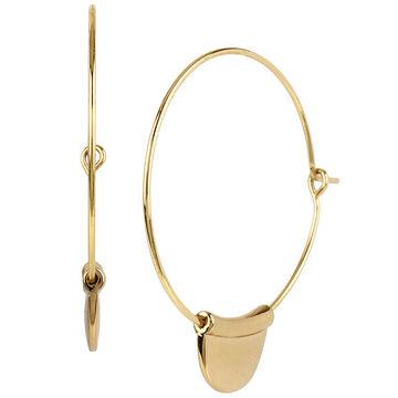 Robert Lee Morris Hoop Earrings - Bronze