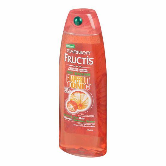 Garnier Fructis Fruit Sensation Grapefruit Tonic Shampoo - 384ml