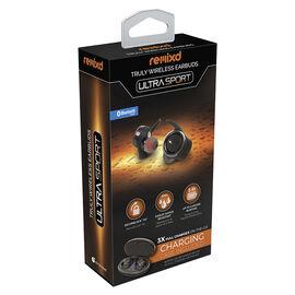 ReTrak Truly Wireless Bluetooth Earbuds - Black - ETPRAUDTW
