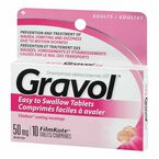 Gravol Tablets 50mg - 10's