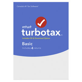 TurboTax Basic 2016 - 4 Returns - Bilingual