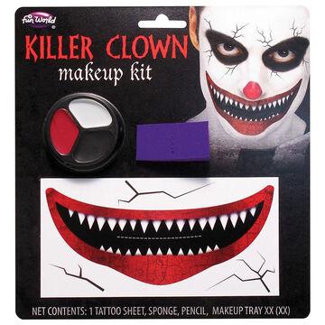 Halloween Killer Clown Makeup Kit