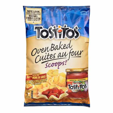 Tostitos Baked Scoops Tortilla Chips - 180g
