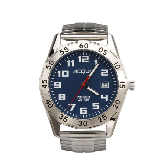 Timex Acqua Men's Quartz Analogue Watch - Blue - 3C444