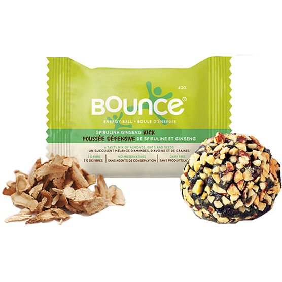 Bounce Energy Ball - Spirulina Ginseng Kick - 42g
