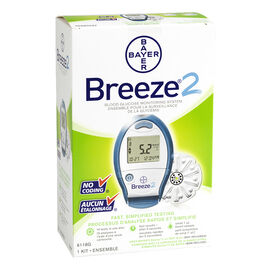 Bayer Ascensia Breeze Blood Glucose Monitoring System