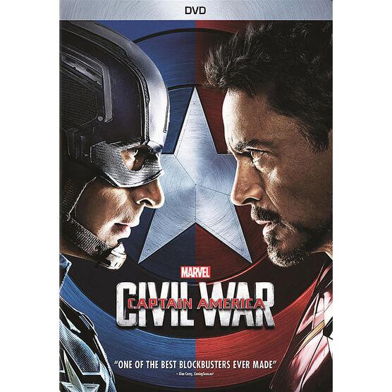 Captain America: Civil War - DVD