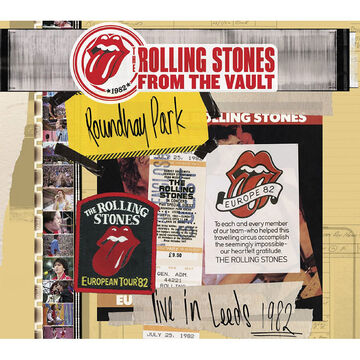 From the Vault: The Rolling Stones Live in Leeds 1982 - DVD + 2 CD