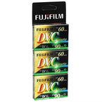 Fujifilm Mini DV Cassette - 60 Minutes - 3 Pack