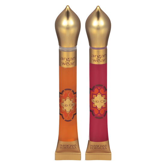 Physicians Formula Argan Wear Lip Oil Duo - Gold/Pink