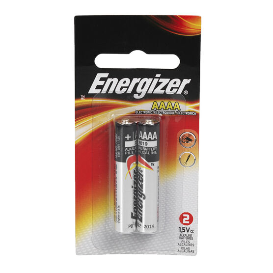 Energizer E2 AAAA Batteries - 2 pack