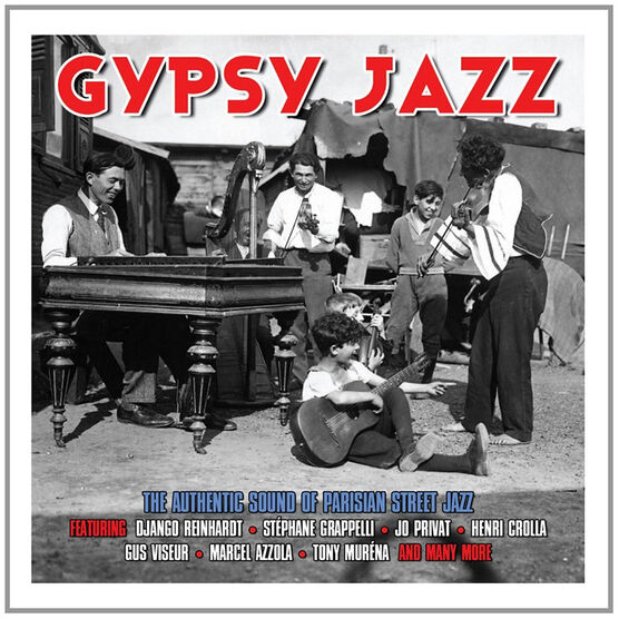 Various Artists - Gypsy Jazz - 2 CDs