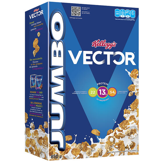 Kellogg's Vector Cereal - 850g