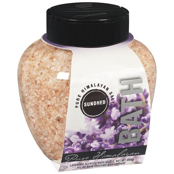 Sundhed Pure Himalayan Bath Salt - Lavender - 850g