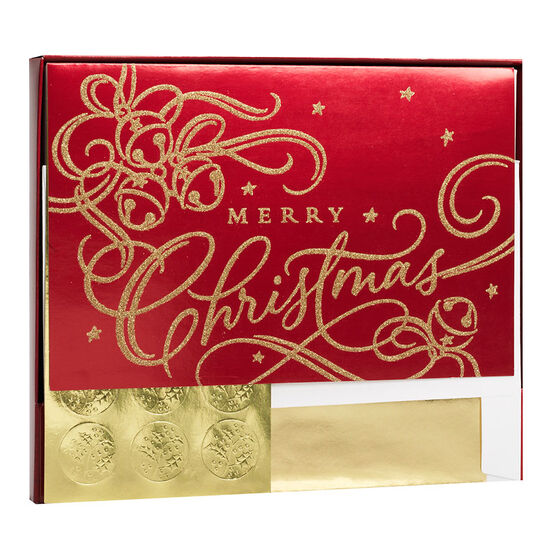 Plus Mark Premium Christmas Cards - Scroll - 14 count - Assorted