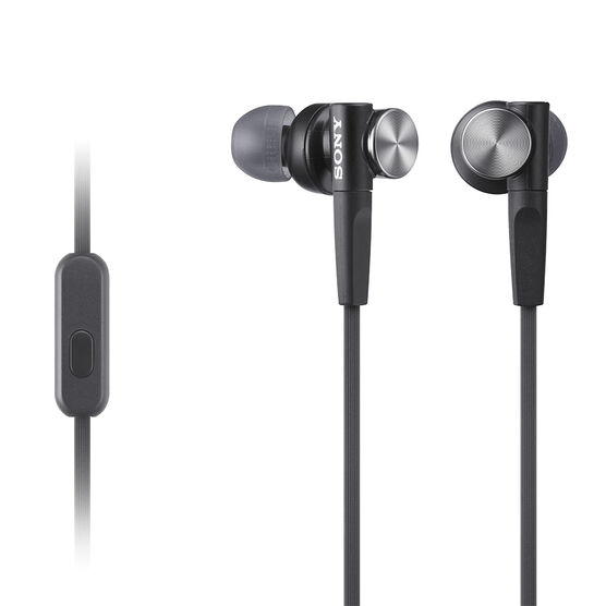 Sony Extra Bass In-Ear Headphones - Black - MDRXB50APB