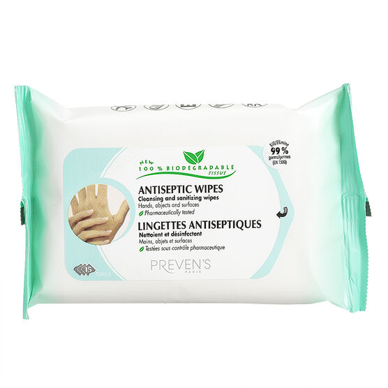 Preven's Paris Antiseptic Wipes - 15's