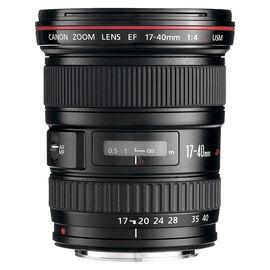 Canon EF 17-40 mm F4.0L USM Lens - 8806A002