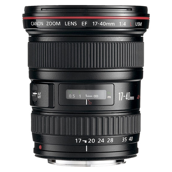 Canon EF zoom lens - wide angle - 17 mm - 40 mm