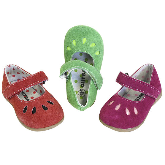 Outbaks Suede Mary Janes Assorted - Girl's