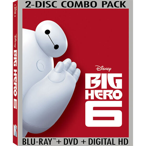 Big Hero 6 - Blu-ray + DVD + Digital HD