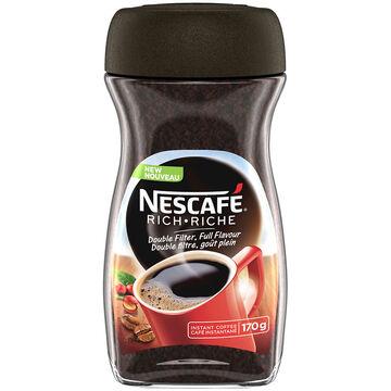 Nescafe Instant Coffee - Rich - 170g