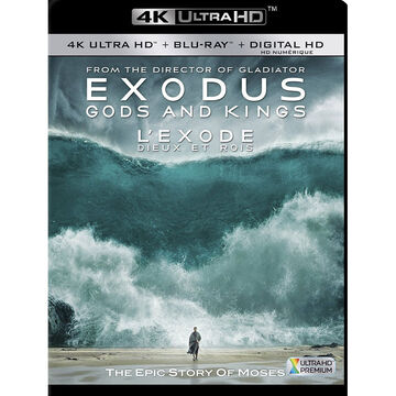 Exodus: Gods and Kings - 4K UHD Blu-ray